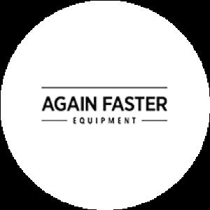 Again Faster logo