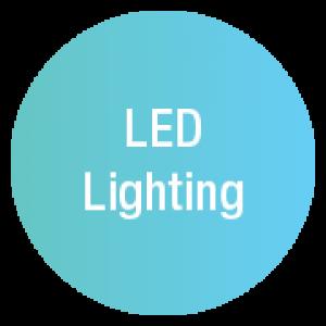 LED lighting icon